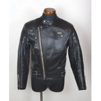 "70'S ""Lewis Leathers GT MONZA"" VINTAGE RIDERS JKT / SIZE:36"