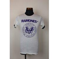 """80'S """"RAMONES"""" VINTAGE TOUR T-SHIRTS/SIZE:M"""