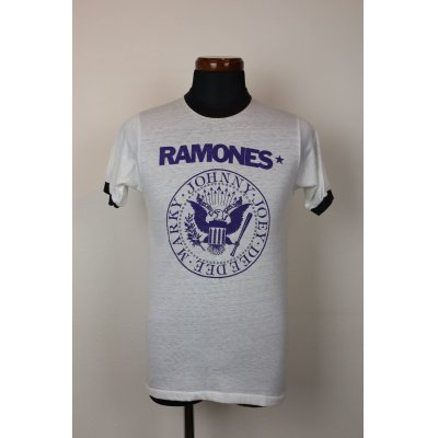 """画像1: 80'S """"RAMONES"""" VINTAGE TOUR T-SHIRTS/SIZE:M"""